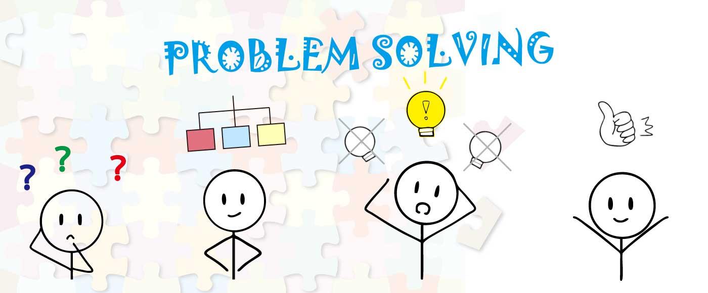 問題解決のステップ
