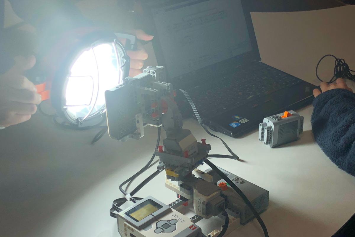 授業例:エネルギーセット「ソーラーステーション」