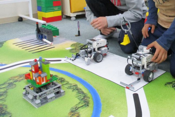 ロボット・ベーシック教室内ロボコン