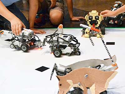 ロボット・ベーシック NESTロボコン「Kokohore! Wanwan!」