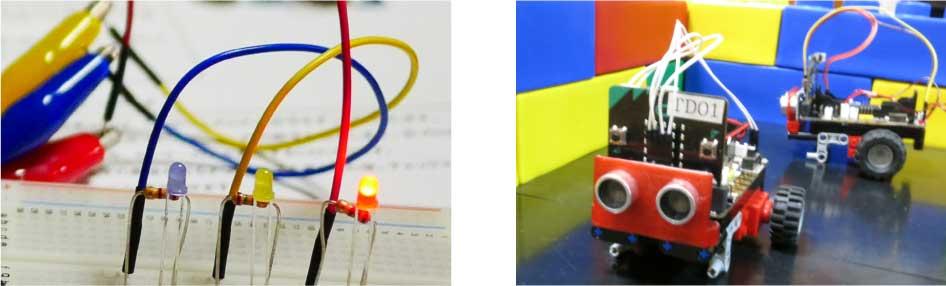 スクラッチ+マイクロビットでロボット制作・電子工作